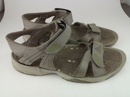 Adidas Sandal Walking Hiking Brown Mens 13 - $25.21