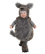 Sweet Plush Gray Fur Bad Little Wolf Costume by Underwraps™Infant/Toddlers - $44.95