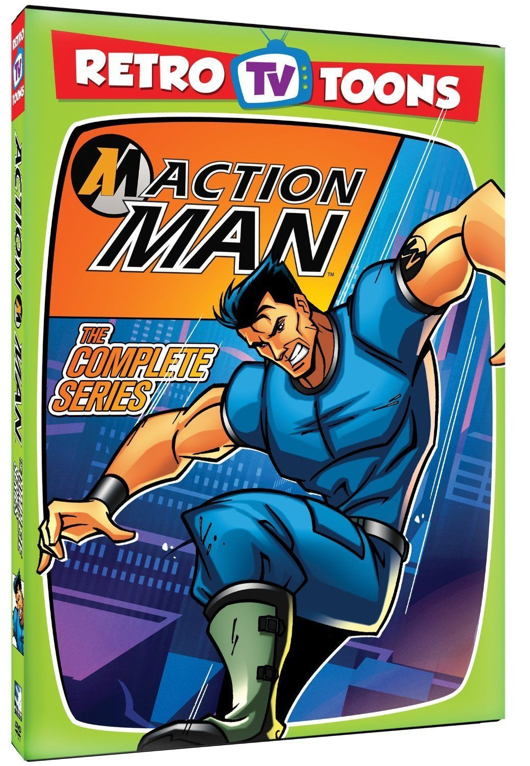 Retro TV Toons Action Man Complete Series DVD Set TV Show Collection Animated R1