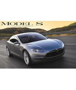 2010/2011 TESLA MODEL S concept sales brochure catalog sheet card Electric - $8.00