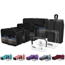 YAMIU Packing Cubes 7-Pcs Travel Organizer Accessories with Shoe Bag & 2... - $725,65 MXN
