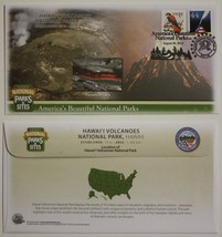 Lot of 3 HAWAII VOLCANOES NATIONAL PARK First Day Cover FDC Cachet Envel... - $9.85