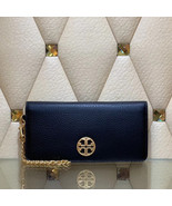 Tory Burch Chelsea Wristlet Leather Pouch - $159.00