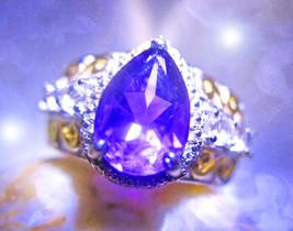 HAUNTED RING ILLUMINATI WORLD OF SECRETS MAGICK MYSTICAL TREASURE 7 SCHOLAR - $337.00