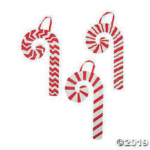 Whimsical Christmas Curly Candy Cane Décor - $21.24