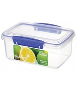 Sistema 1600 Klip It Collection Rectangle Food Storage Container, 33.8 O... - $3.49
