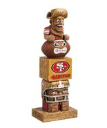 "San Francisco 49ers Team Garden Statue Totem Tiki 16"" Tall Indoor/outdoo... - $32.62"