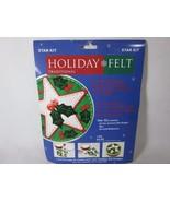 """CPE The Felt Company Star Holiday Felt Kit Size 7.5"""" Round - $3.95"""