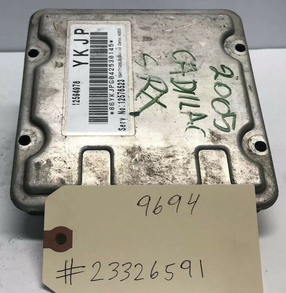 2004 2005 2006 Cadillac SRX 4.6L V8 ECM PCM Engine