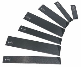 7 Piece Blade Guards Set - Felt Lined - Heavy Strength Polymer - Fits Most - $24.35 CAD