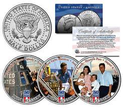 JOHN F KENNEDY First Family 2014 50th Anniversary JFK Half Dollar US 3-C... - $19.75