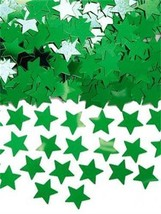 Metallic Green Star Foil Table Top Confetti Party Sprinkles Stardust Con... - £1.48 GBP