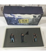 W. Britains American Civil War Art of War Hold At All Costs 3 Piece Add-... - $59.97
