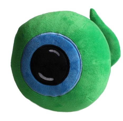 Hot Jacksepticeye Sam Plush Baby Toy Doll Septic-eye Green Eye Stuffed Toys 20cm