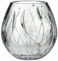 """Michael Aram Waterford Fathom 8"""" Crystal Bouquet Vase Beach #154013 New - $223.00"""