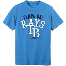 MLB Tampa Bay Rays Boys Short Sleeve T-Shirt Size L10/12   NWT   - $13.29