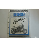 1996 Buell Lightning S1 Motorcycle Parts Catalog Manual FACTORY OEM BOOK... - $108.90