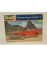 REVELL 1967 Dodge Charger 426 Hemi 2 'n 1 Vintage MODEL KIT 85-7669 NIP - $29.99