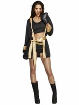 Fever Knockout Boxer Boxing Gloves Fighting Adult Womens Halloween Costu... - $44.99+