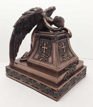 Mourning Angel of Grief Desktop Statue Rome William Wetmore Inspired Sculpture - $44.99