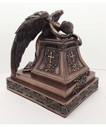 Mourning Angel of Grief Desktop Statue Rome William Wetmore Inspired Scu... - $44.98