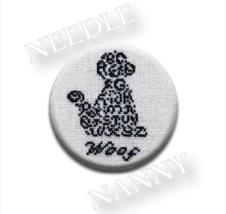 Woof Needle Nanny cross stitch JBW Designs   - $12.00