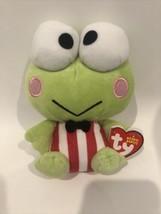 "Ty Beanie Baby 6"" Keroppi Hello Kitty Frog Sanrio New A18W - $29.95"