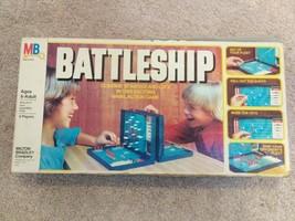 Battleship Game Vintage Game 1978 Milton Bradley Complete Box Set Strategy Game - $30.69