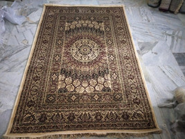 Handmade Cotton Silk Rug | Vintage rug | Area Rug | Floor Rug | Turkish ... - $479.99+