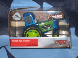 DISNEY STORE CARS CLUTCH AID/BLUE GREEN TRACTOR. CHASER SERIES. BRAND NEW. - $19.68