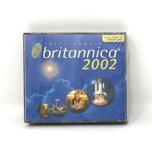 Encyclopedia Britannica 2002 - Deluxe Edition CD for Windows Version - $19.95