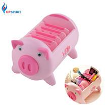 Pig Shaped Plastic Storage Box Adjusted 5 Lattie Organizer Box Bedding - $20.56