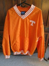 Tennessee Vols Adidas Pullover Jacket Orange V Neck Size Small EUC - $39.99