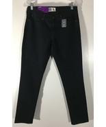 Women's Black Jeans Misses Size 10S Levi Strauss Signature Stretch Skinn... - $16.82