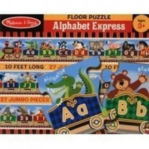 New Melissa & Doug 4420 Alphabet Express Floor Puzzle - $9.07