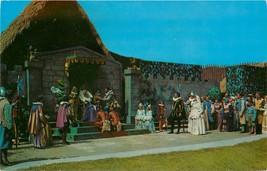 Std Chrome Postcard NC F223 Lost Colony Play Manteo Sir Walter Raleigh R... - $6.00