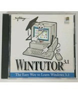 WINTUTOR 3.1 SoftKey PC CD ROM The Easy Way To Learn Windows 3.1 (1994) - $7.69
