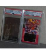 Two PSA Graded Michael Jordan Cards Holograph Stats - $125.00