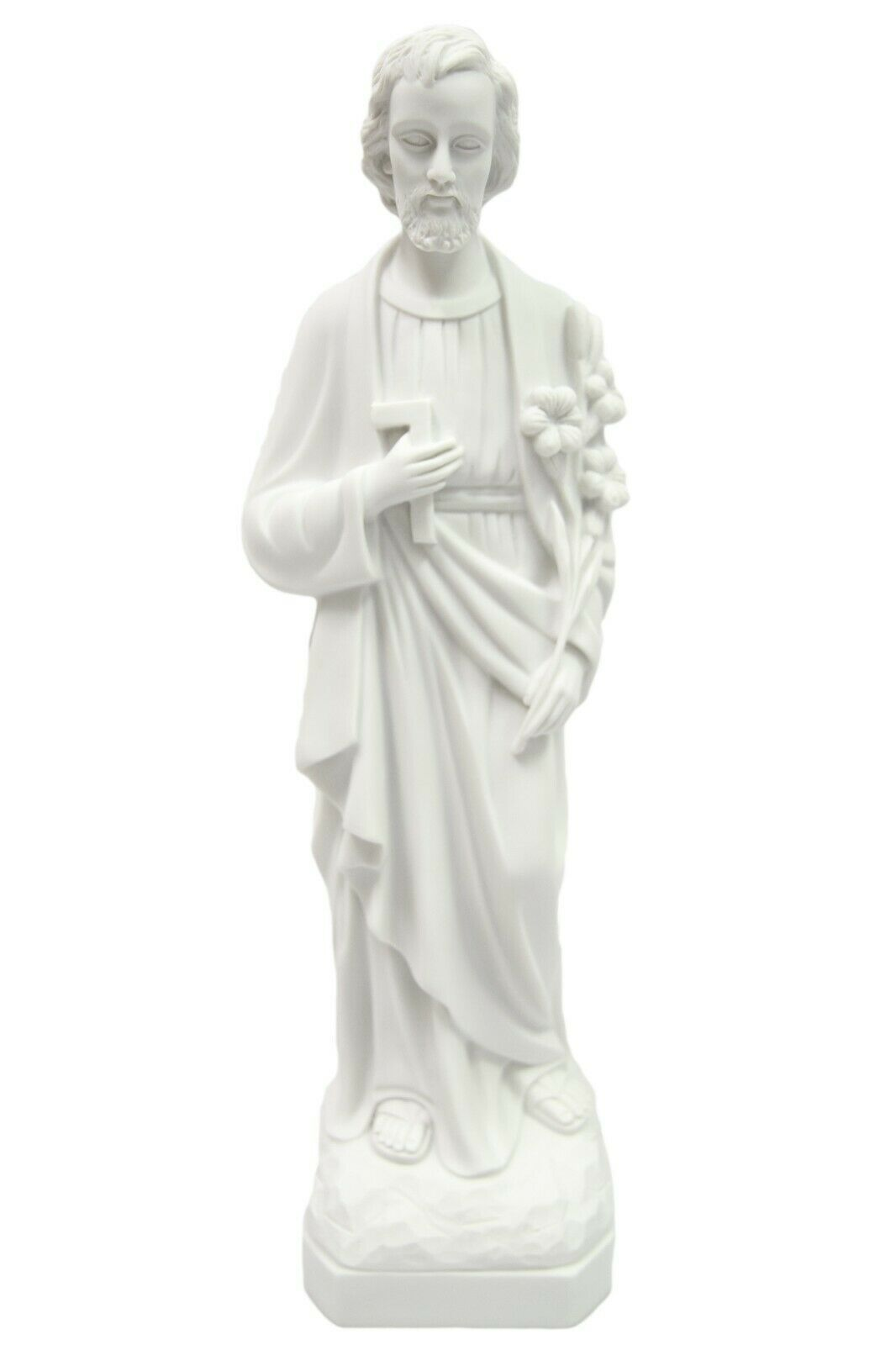 "Primary image for 19"" Saint Joseph the Worker Catholic Statue Sculpture Vittoria Made in Italy"