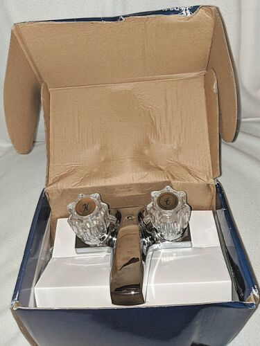 Homewerks Worldwide 10B42WYCH1BZ Chrome Two Handle Lavatory Faucet