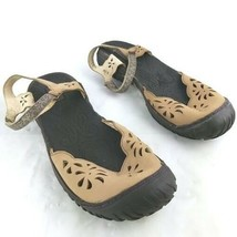 Womens Jambu Ocean All Terra Design Tan Sandals Size 9.5 - $32.71