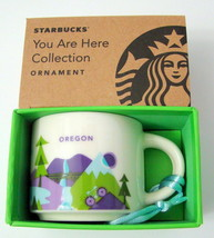 "Starbucks OREGON 2015 ""You are here"" City Mug Espresso Ornament 2oz New ... - $16.92"