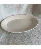 Homer Laughlin Oval Serving Platter Best China Restaurant Ware White 13 ... - $13.99