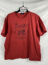 Retro Polo Ralph Lauren RL Elephant Logo T Shirt sz XL Expedition  Singl... - $21.77