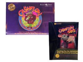 NEW 1 Cashflow 101 & 202 Board Game Robert Kiyosaki Rich Dad Poor Dad Ca... - $117.81