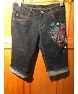 Southpole Jeans Co., Juniors  / Kids Size 7  Denim Bermuda Shorts - $7.69