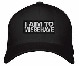 I Aim To Misbehave Hat (Black) - $17.05