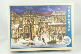 Cobble Hill 500 Piece Jigsaw Puzzle - Tis the Season (Christmas Shopping) - $9.28