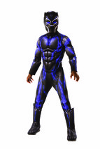 Rubies Vengadores 4 Endgame Pantera Negra Lujo Niños Disfraz Halloween 7... - $31.50