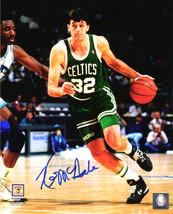 KEVIN McHALE Signed Boston Celtics Dribbling Action 8x10 Photo - SCHWARTZ - $71.22